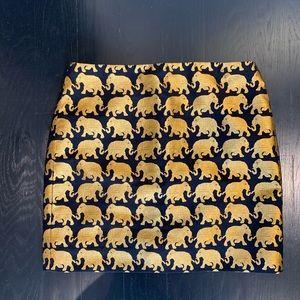J.Crew Elephant Skirt